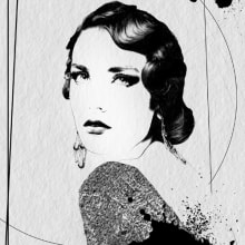 Portrait//. Un proyecto de Ilustración de Lucía Paniagua - 08.06.2014