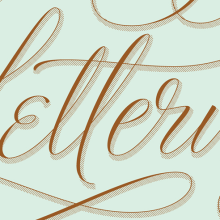 Lettering Lettering. A Design, T, and pograph project by Martina Flor - 10.19.2014