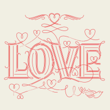 LOVE. A Design, T, and pograph project by Martina Flor - 10.19.2014