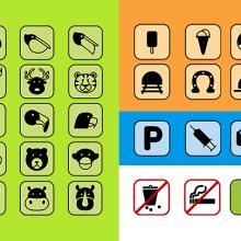 """Señalética del Zoológico  """"La Edad de Oro"""". Un proyecto de 3D, Diseño gráfico y Diseño de la información de Dacher Ponce - 08.10.2011"""