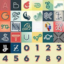 36 days of type. Un proyecto de Diseño, Tipografía y Escritura de Dario Trapasso - 19.09.2014