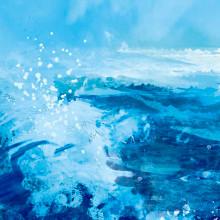 Almadrava Beach. Um projeto de Ilustração, Paisagismo e Pintura de Ricard Cendra - 09.10.2014
