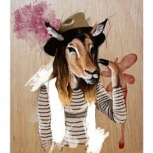 Manimal. Un proyecto de Diseño, Ilustración y Bellas Artes de Mercis Rossetti Caral - 09.11.2014