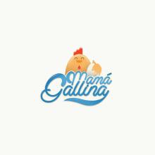 Mamá Gallina. Um projeto de Br, ing e Identidade, Direção de arte e Design gráfico de Gonzalo Sainz Sotomayor - 13.11.2014