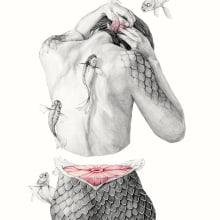 Metamorfish. A Illustration, Kunstleitung, Verlagsdesign und Bildende Künste project by Elisa Ancori - 13.11.2014