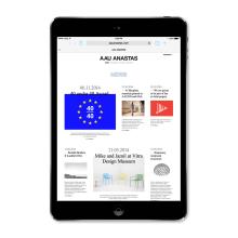 Estudio de arquitectura AAU ANASTAS. Um projeto de Design gráfico, Web design e Desenvolvimento Web de Atipus - 17.11.2014