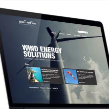 Weatherflow - Website. Un proyecto de Diseño Web de Francisco Aveledo - 01.02.2014