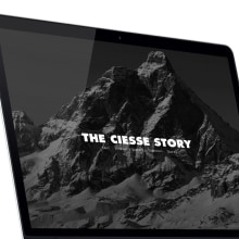 Ciesse Piumini. Un proyecto de Diseño Web de Francisco Aveledo - 30.04.2014