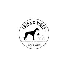Frida & Vince. Um projeto de Br, ing e Identidade, Direção de arte e Design gráfico de Gonzalo Sainz Sotomayor - 27.11.2014