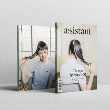 Assistant Magazine. Un proyecto de Dirección de arte, Diseño editorial y Diseño gráfico de Mariano Fiore - 30.11.2014