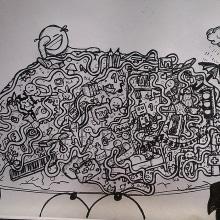 My brain. Un proyecto de Ilustración de Laura de la Cruz Martínez - 05.12.2014