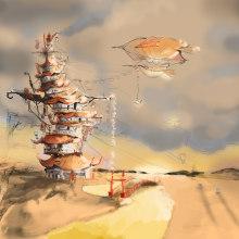 Steampunk Japan. Un proyecto de Ilustración de Pedro González López - 04.12.2014