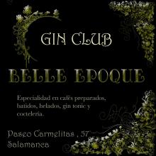 Creación de identidad corporativa y elementos de branding. Belle Epoque Gin Club. Um projeto de Br, ing e Identidade, Design editorial e Design gráfico de Cristina Hernández Bernal - 16.12.2014