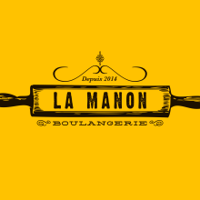 La Manon Boulangerie. Um projeto de Br, ing e Identidade, Design gráfico, Cop e writing de Marilu Rodriguez Vita - 07.01.2015