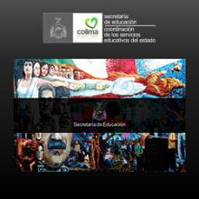 Portal web de la Secretaría de Educación del Estado de Colima. Un proyecto de Diseño Web de Violeta Farías - 19.09.2014
