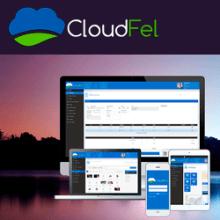 Cloudfel . Un proyecto de Diseño Web de Violeta Farías - 26.12.2013