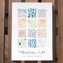 12 months of patterns. Un proyecto de Ilustración, Dirección de arte y Diseño gráfico de Nathalie Ouederni - 14.01.2015