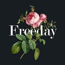 Freeday. Un proyecto de Ilustración, Tipografía y Collage de Natalia Escaño - 15.01.2015