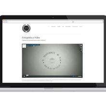 Diseño Página Web Esporas Producciones. Um projeto de Design gráfico e Web design de Sara Palacino Suelves - 17.01.2015