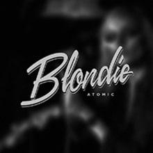Blondie | Atomic. Un proyecto de Dirección de arte, Tipografía y Caligrafía de Dario Trapasso - 21.01.2015