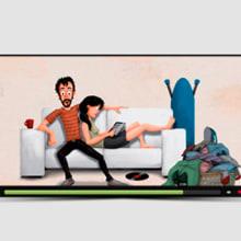 Pressto a domicilio. Un proyecto de Diseño, Ilustración, Motion Graphics y Animación de Ms. Barrons - 26.01.2015