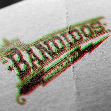 Bandidos Lettering. Un proyecto de Diseño, Música, Audio, Br, ing e Identidad y Diseño gráfico de Ms. Barrons - 27.01.2015