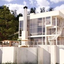 Casa Douglas. Un proyecto de 3D y Arquitectura de Francisco Javier Avileo Laguna - 09.01.2014