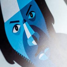 Music Icons. Um projeto de Ilustração e Música e Áudio de Rubén Montero - 22.01.2015