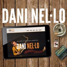 Dani Nel.lo. A Design, Art Direction, and Web Development project by Vudumedia - 02.10.2015