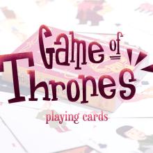 Game of Thrones Playing Cards. Un projet de Illustration, Cinéma, vidéo et télévision, Design graphique, Conception de l'information , et Packaging de Eneri Mateos - 12.02.2015