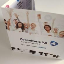 Folleto Consultoria 3.0. Un proyecto de Diseño gráfico de Chary Esteve Vargas - 13.01.2015