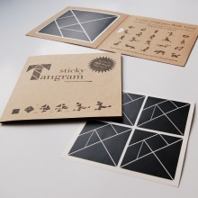 Sticky Tangram. A Product Design project by Fábrica de Texturas - 10.18.2013