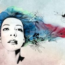 Butterfly. Un proyecto de Ilustración, Dirección de arte, Diseño editorial, Moda y Bellas Artes de Lucía Paniagua - 11.02.2015