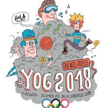 YOG // Juegos Olimpicos de la Juventud 2018. Un proyecto de Diseño, Ilustración y Dirección de arte de Maikol De Sousa - 09.03.2015