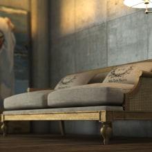 Sofá Vintage. Un proyecto de 3D y Diseño de muebles de Abel Mesa - 09.03.2015