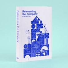 BBVA Year Book: Reinventar la empresa en la era digital. A Illustration, Motion Graphics, Verlagsdesign, Informationsarchitektur und Informationsdesign project by relajaelcoco - 31.01.2015
