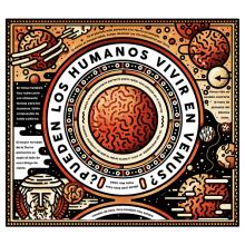 Ciencia (I) Venus. Un proyecto de Ilustración y Diseño editorial de Juan Díaz-Faes - 16.03.2015