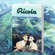 ILUSTRACIÓN - Packaging Ricola. A Design, Illustration, Graphic Design, and Packaging project by Concepción Domingo Ragel - 03.18.2015
