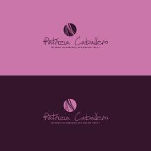 LOGOTIPO - Patrizia Caballero. A Design, Br, ing, Identit, and Graphic Design project by Concepción Domingo Ragel - 02.12.2015