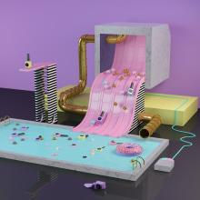Toy nail polish. Un proyecto de Ilustración, 3D, Dirección de arte y Escenografía de dani aristizábal - 26.03.2015