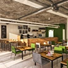 Bar-Restaurant . A 3D project by Sara Gonzalez - 02.27.2015
