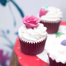 Alma's Cupcakes - Reportaje fotográfico para All Lovely Party. A Art Direction, and Photograph project by Gema Espinosa - 03.30.2015