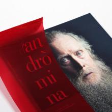 El sueño de andrómina. Un proyecto de Diseño editorial y Diseño gráfico de el bandolero Lacabra - 30.03.2015