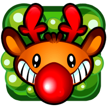 Farty Rudolph Mobile Game. Un proyecto de Diseño de juegos y Diseño de personajes de Jorge de Juan - 13.02.2014