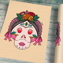 FRIDUCHA II · Vector Illustration . Un proyecto de Diseño, Ilustración, Diseño de complementos, Br, ing e Identidad, Diseño de personajes, Bellas Artes y Diseño gráfico de Mapy D.H. - 07.04.2015