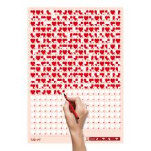 Life Calendar: Love Life, Day by Day. Um projeto de Design, Design gráfico e Design de produtos de Raquel Catalan - 07.06.2011
