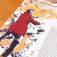 The New Republic Magazine - Ilustración editorial. Um projeto de Ilustração e Design editorial de Juan Esteban Rodríguez - 21.04.2015
