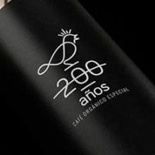 200 años Café. Un proyecto de Br, ing e Identidad y Diseño de David Espinosa - 22.04.2015