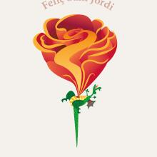 Sant Jordi. Un proyecto de Ilustración de Anabel Najar Colom - 22.04.2015