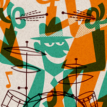 Cartel Atiende Alicante 2015. A Design, Illustration, Advertising, Music, Audio, Art Direction, Events, and Graphic Design project by Pablo Lacruz - 04.26.2015